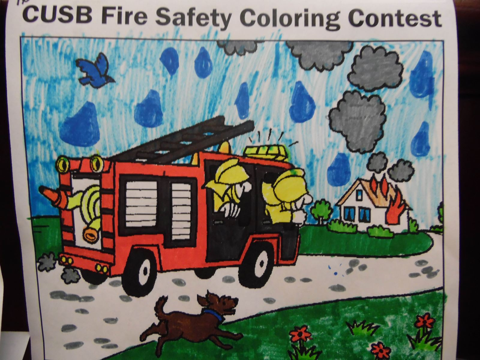 Fire Safety Event Winners
