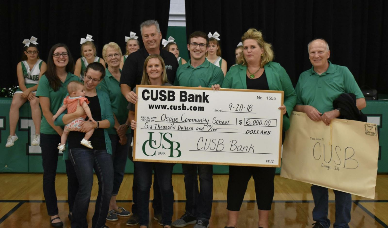 CUSB sponsors Free Osage Student Admission to Sporting Events