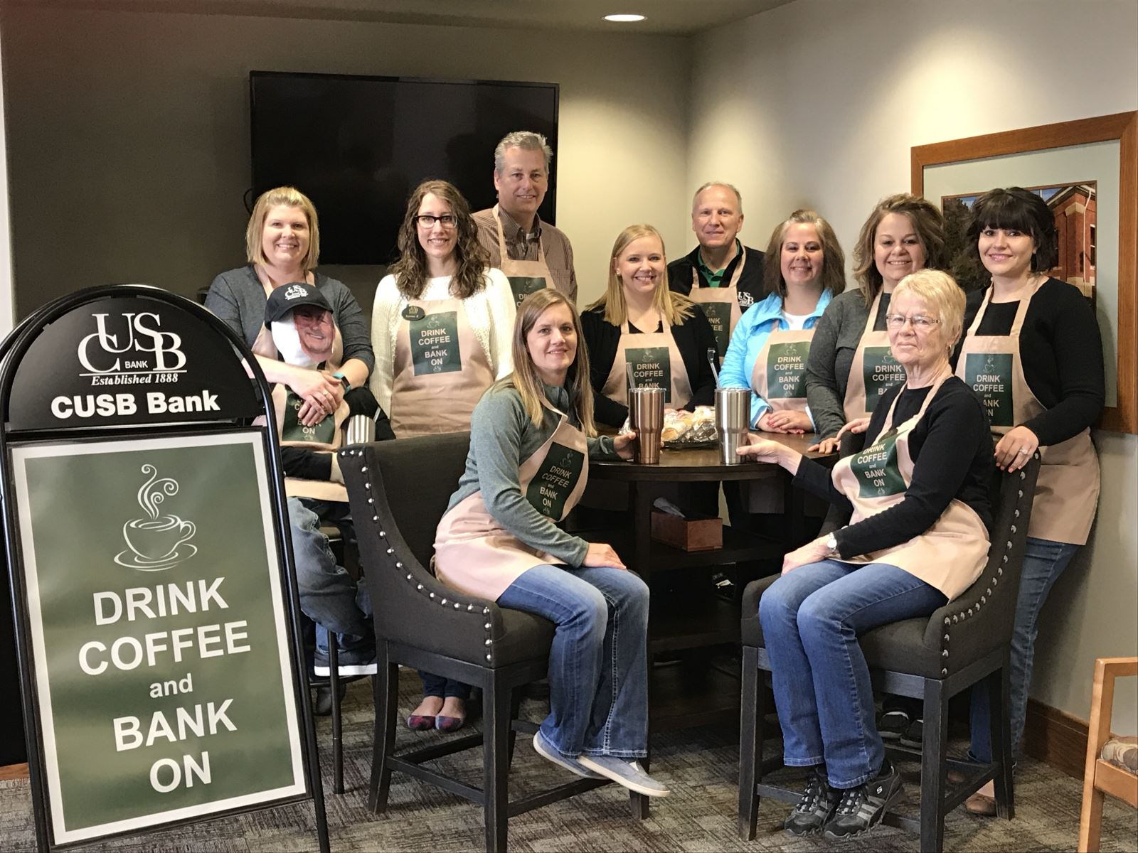 We have a latte' of FREE at CUSB Bank!