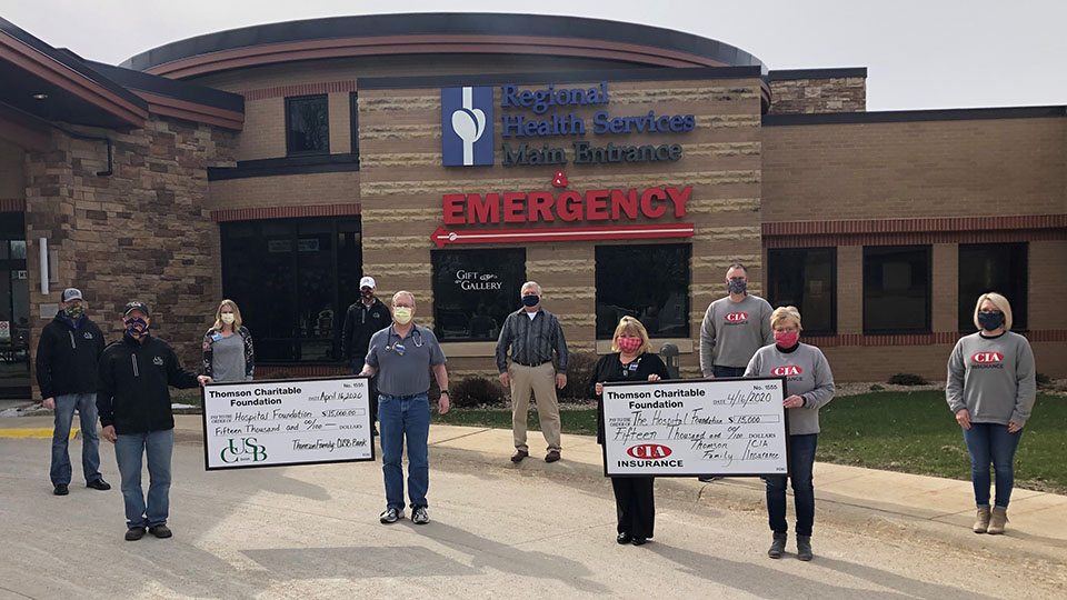 $30,000 donated to RHSHC for IV Pumps